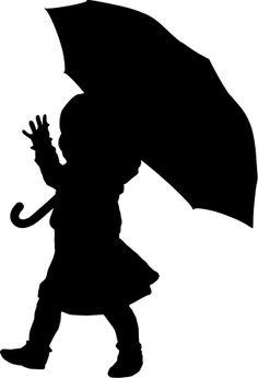 Shadow clipart umbrella #10