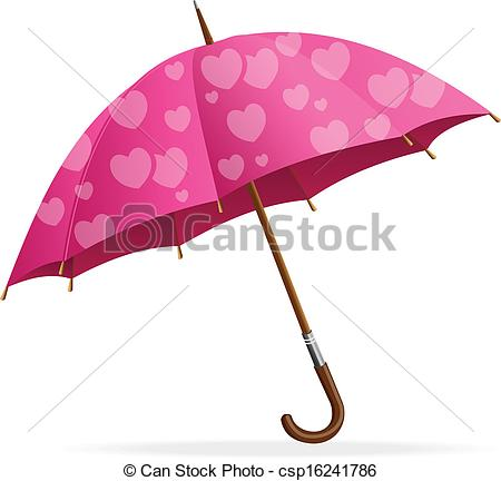 Umbrella clipart heart Of   protects Pink
