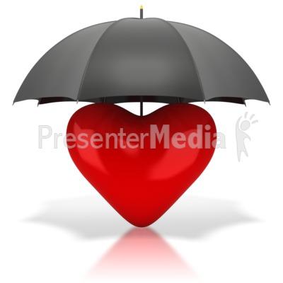 Umbrella clipart heart Heart Great Heart Umbrella Under