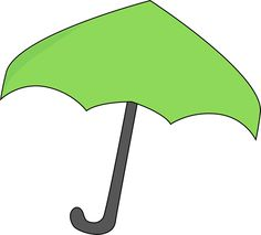 Umbrella clipart large Umbrella Umbrella large Image Green