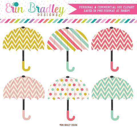 Umbrella clipart large Clipart Erin Designs  Bradley/Ink
