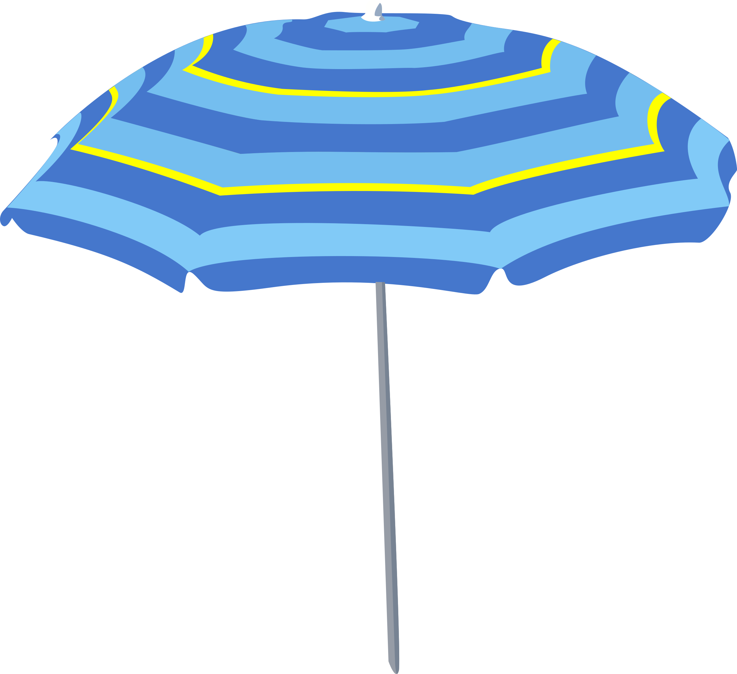 Umbrella clipart large Art Umbrella Clipart – Large