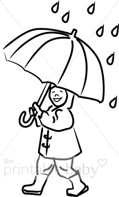Umbrella clipart large Clipart with Shower Baby Toddler