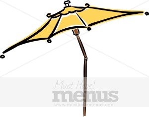 Umbrella clipart large Cafe Clipart Cafe Cafe Clipart