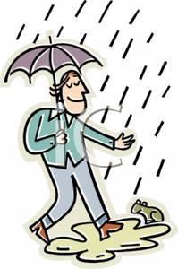Umbrella clipart man Rain Umbrella Picture Umbrella Holding