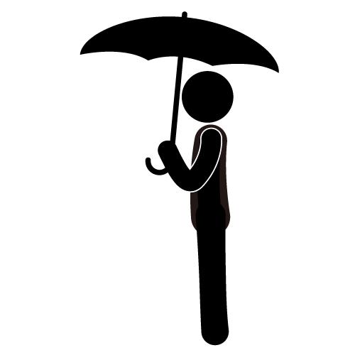 Umbrella clipart man With (33+) Man Umbrella Clipart