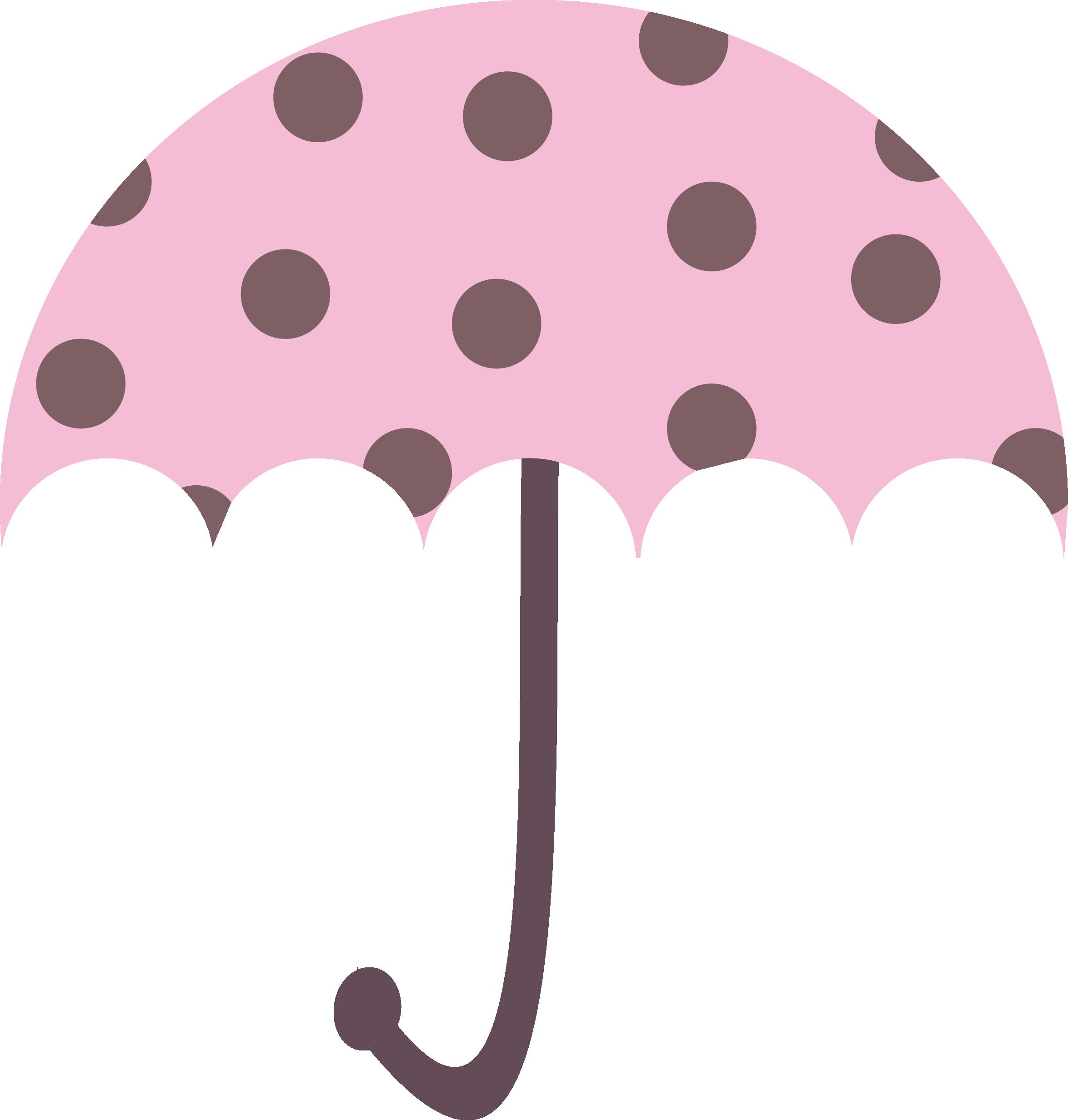 Umbrella clipart pink umbrella Vector Free Clip royalty free