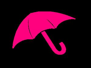 Umbrella clipart pink umbrella By com at Art Pink