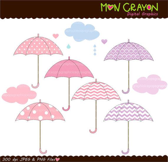 Umbrella clipart pink umbrella Clip sale DOWNLOAD to colour
