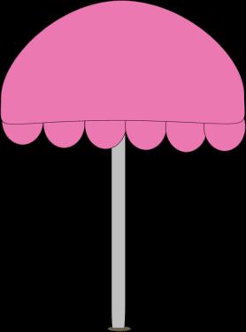 Umbrella clipart pink umbrella Beach Beach Umbrella Art Umbrella