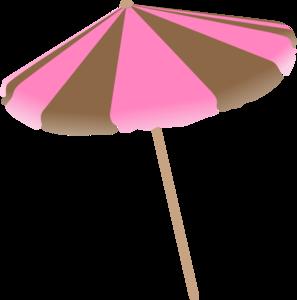 Umbrella clipart pink umbrella Brown clip com Pink And