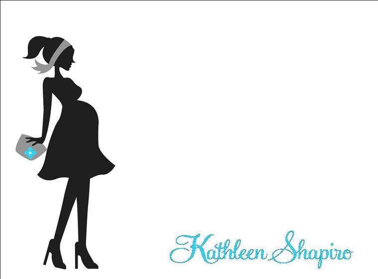 Mommy clipart pregnant mom #3