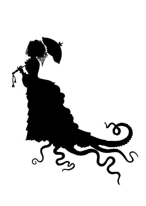 Octopus clipart steampunk Jewellery Lady best Kraken 97