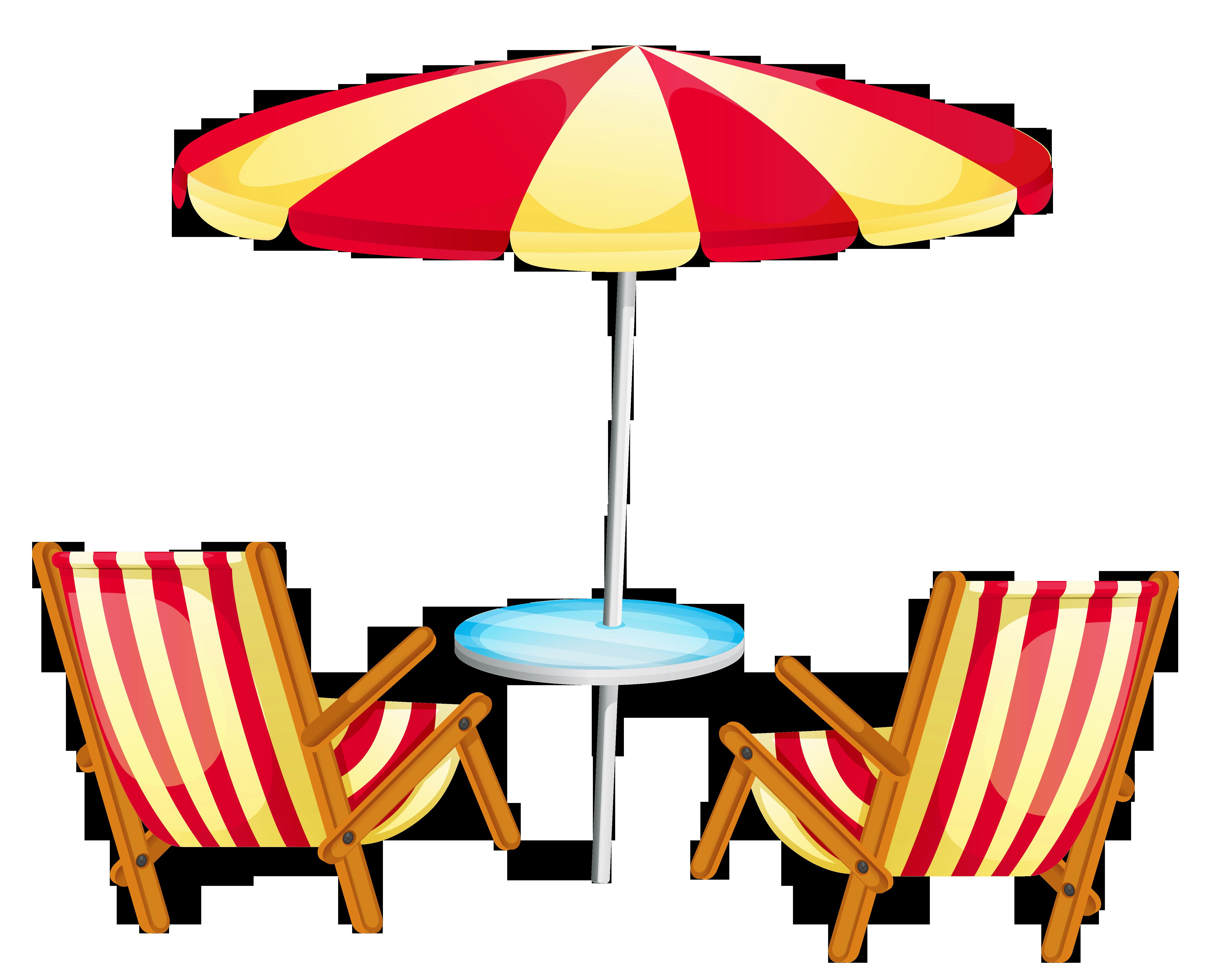 Vacation clipart transparent Beach Umbrella  Transparent Clipart