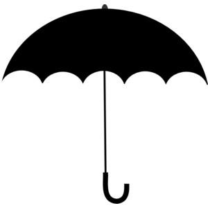 Shadow clipart umbrella #11