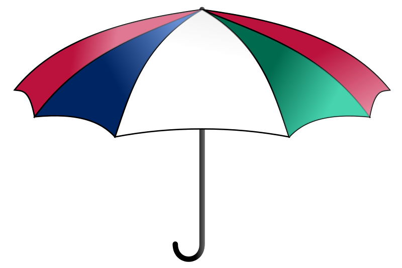 Covered clipart umbrella Of umbrella an Clipart clipart