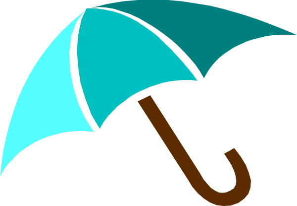 Umbrella clipart vector Svg clip vector Umbrella Blue