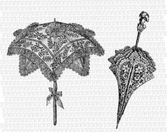 Umbrella clipart victorian Sheet to Desserts Art similar
