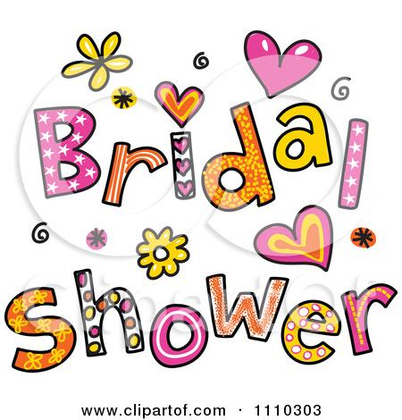 Bride clipart art Umbrella Art shower Umbrella Shower