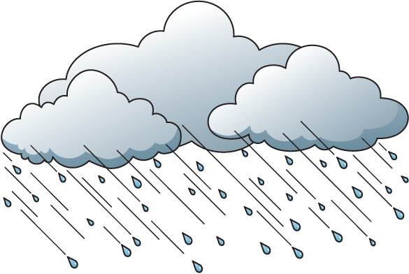 Breeze clipart wind rain Clip rain collection Wind Art