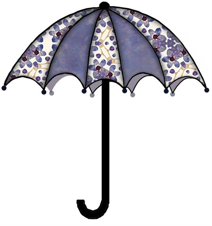 Umbrella clipart winter On paper Rain about FASHION