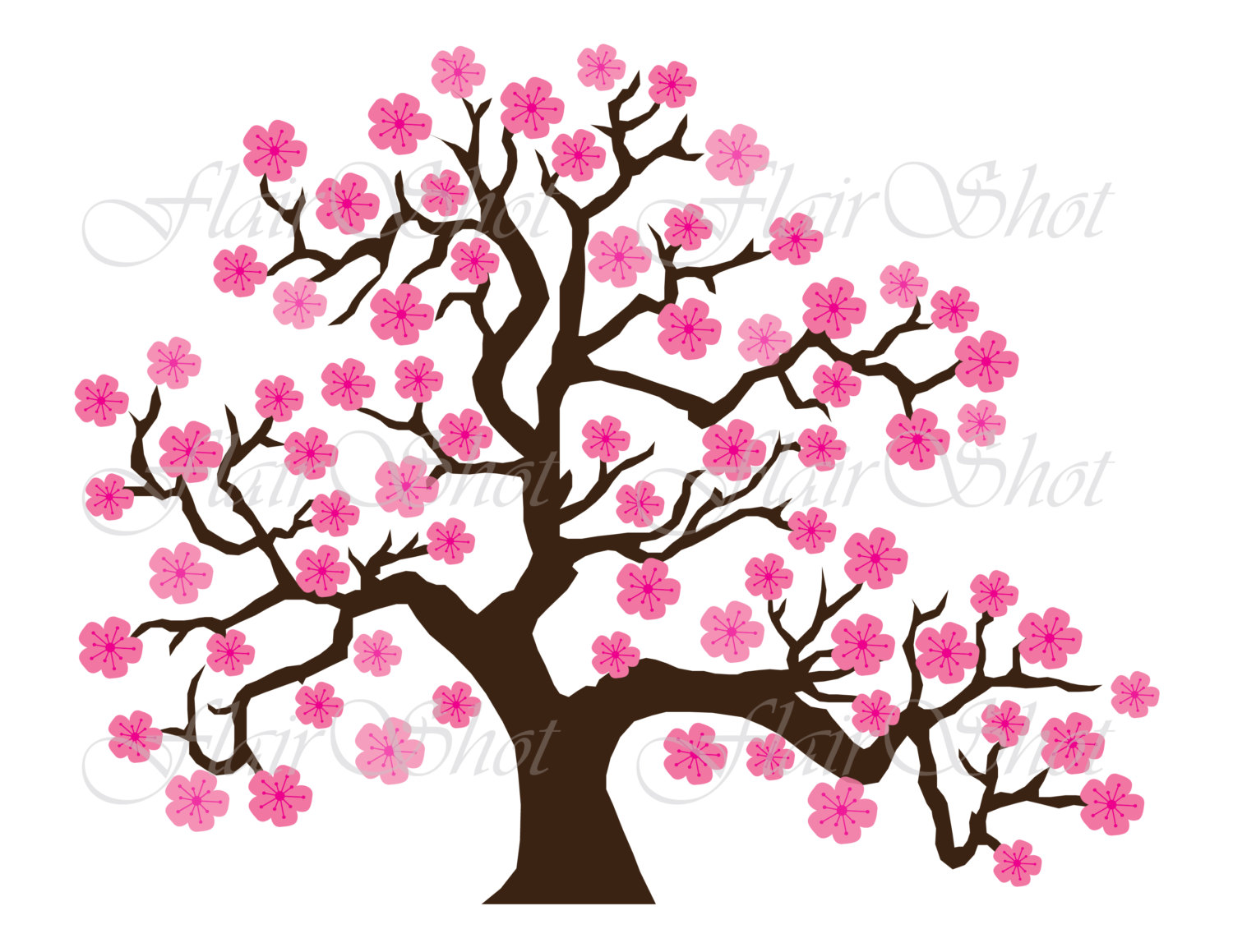 Cherry Tree clipart Download Tree drawings Tree Ume
