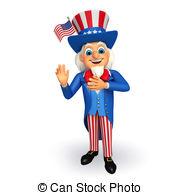 Uncle Sam clipart Uncle illustration of Uncle