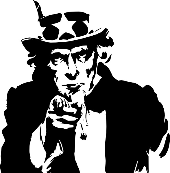 Uncle Sam clipart Clip Pointing clip art Uncle