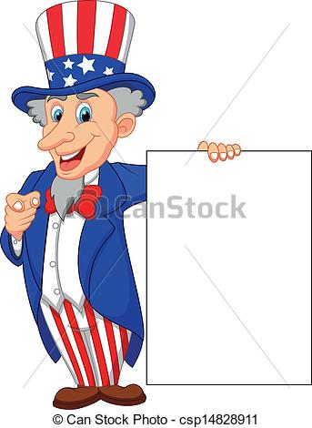 Uncle Sam clipart cute Sam Clip csp14828911 sam Vector