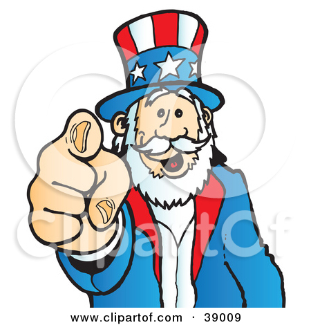 Uncle Sam clipart cute Sam Patriotic With Illustration A
