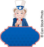 Uncle Sam clipart cute 985 Illustrations Uncle with sam