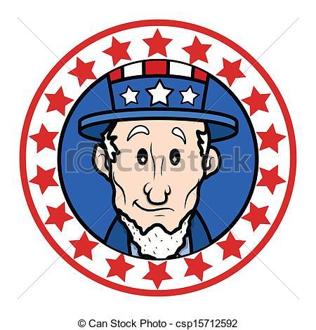 Uncle Sam clipart face Happy Happy Vectors Uncle Face