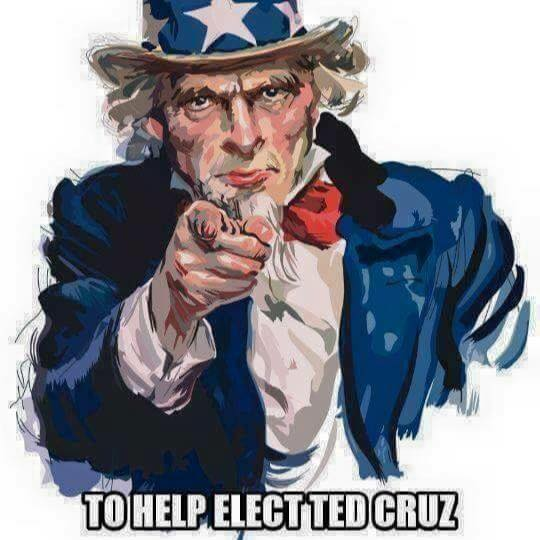 Uncle Sam clipart federalist SAM USA CRUZ and FOR