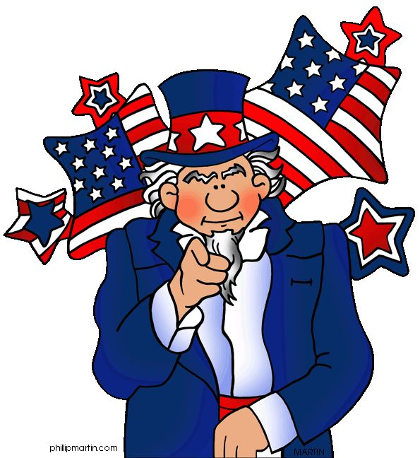 Uncle Sam clipart federalist 66 Free on images best