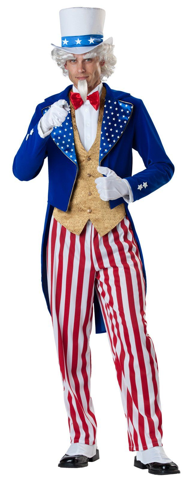 Uncle Sam clipart goatee Elite Costume ideas Uncle costume