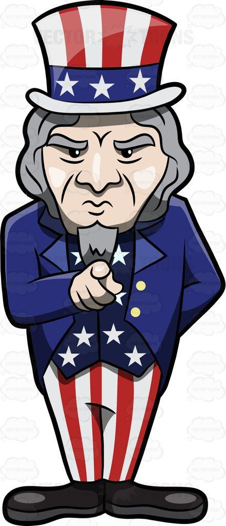 Uncle Sam clipart goatee Looking Uncle Beard The on