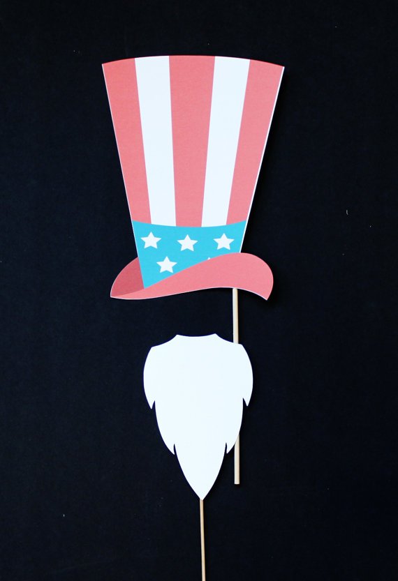 Uncle Sam clipart goatee Hat prop Mood photo Pinterest