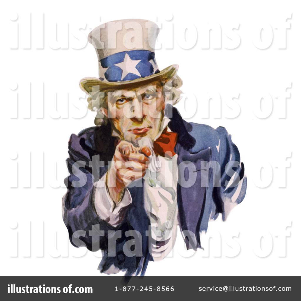 Uncle Sam clipart i want you JVPD Uncle (RF) Illustration Clipart