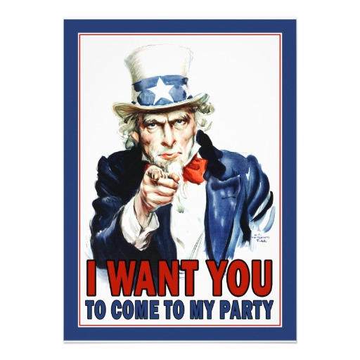 Uncle Sam clipart i want you Collection Clipart We you