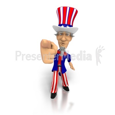 Uncle Sam clipart i want you Great I I and PowerPoint