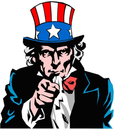 Uncle Sam clipart i want you Clipart Sam Clipart You Wants