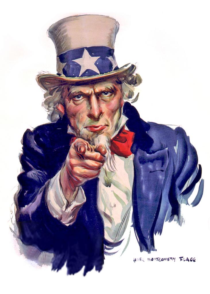 Uncle Sam clipart i want you Illustration Uncle Sam You Flickr