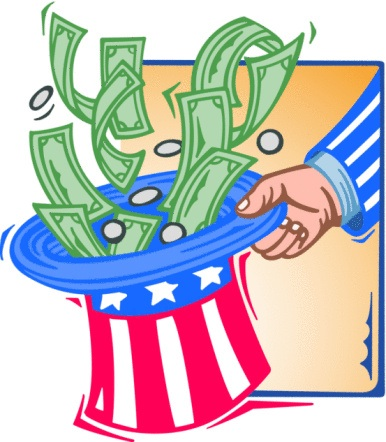 Uncle Sam clipart income tax Costs University popular Cut education