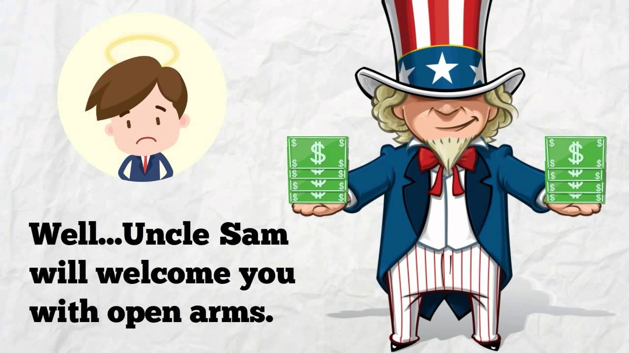Uncle Sam clipart income tax Tax: YouTube Uncle Death Sam