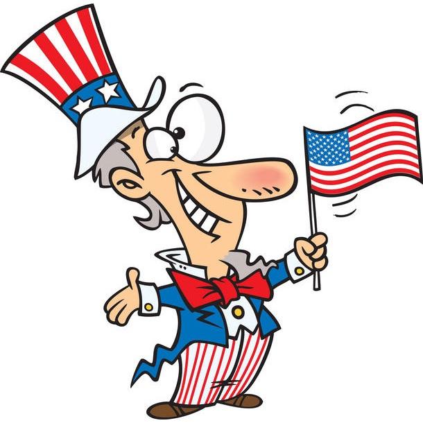 Uncle Sam clipart kid Us cartoon Coloring uncle cartoon