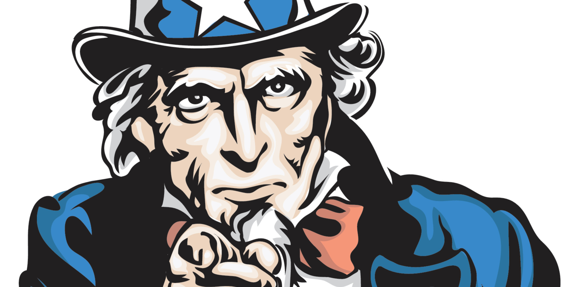 Uncle Sam clipart poster Want Uncle HuffPost Doesn't Sam