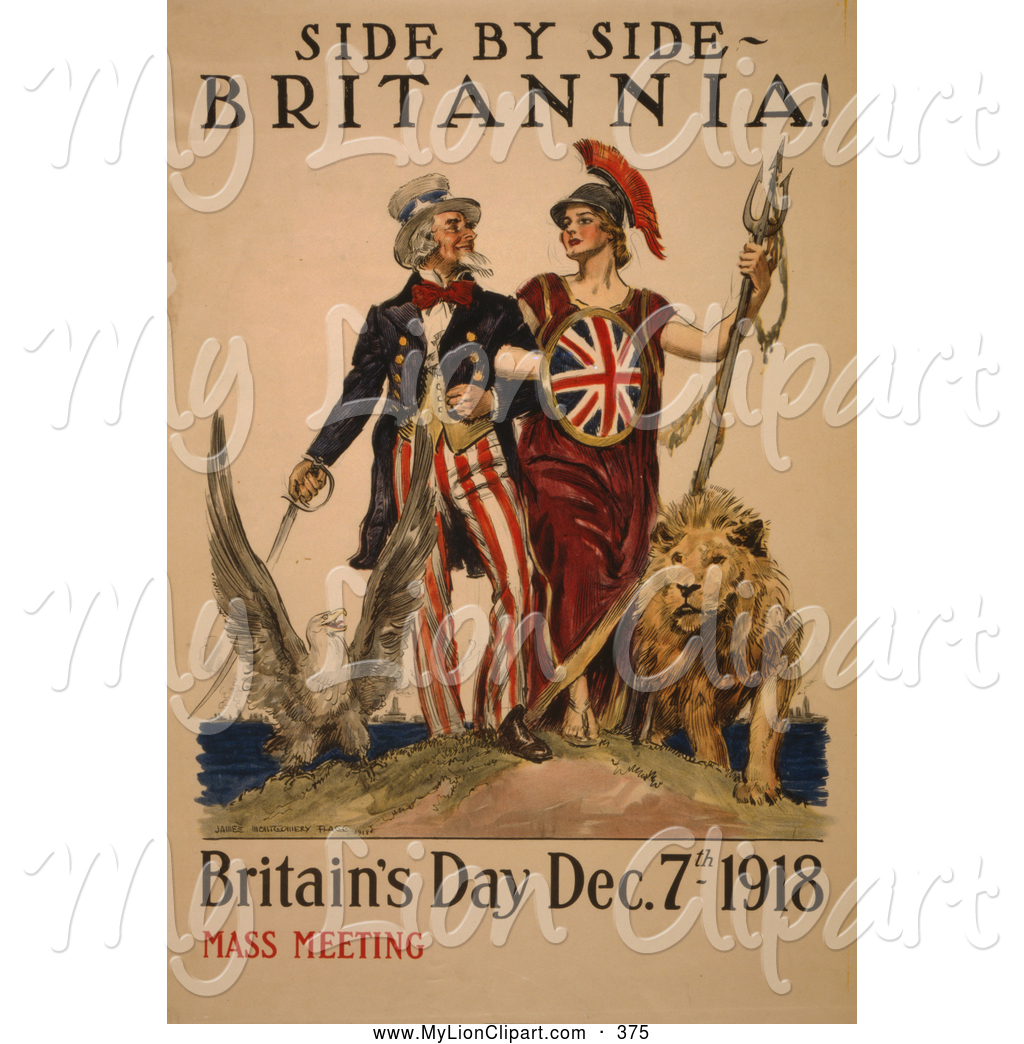 Uncle Sam clipart poster Side Sam Uncle of Day
