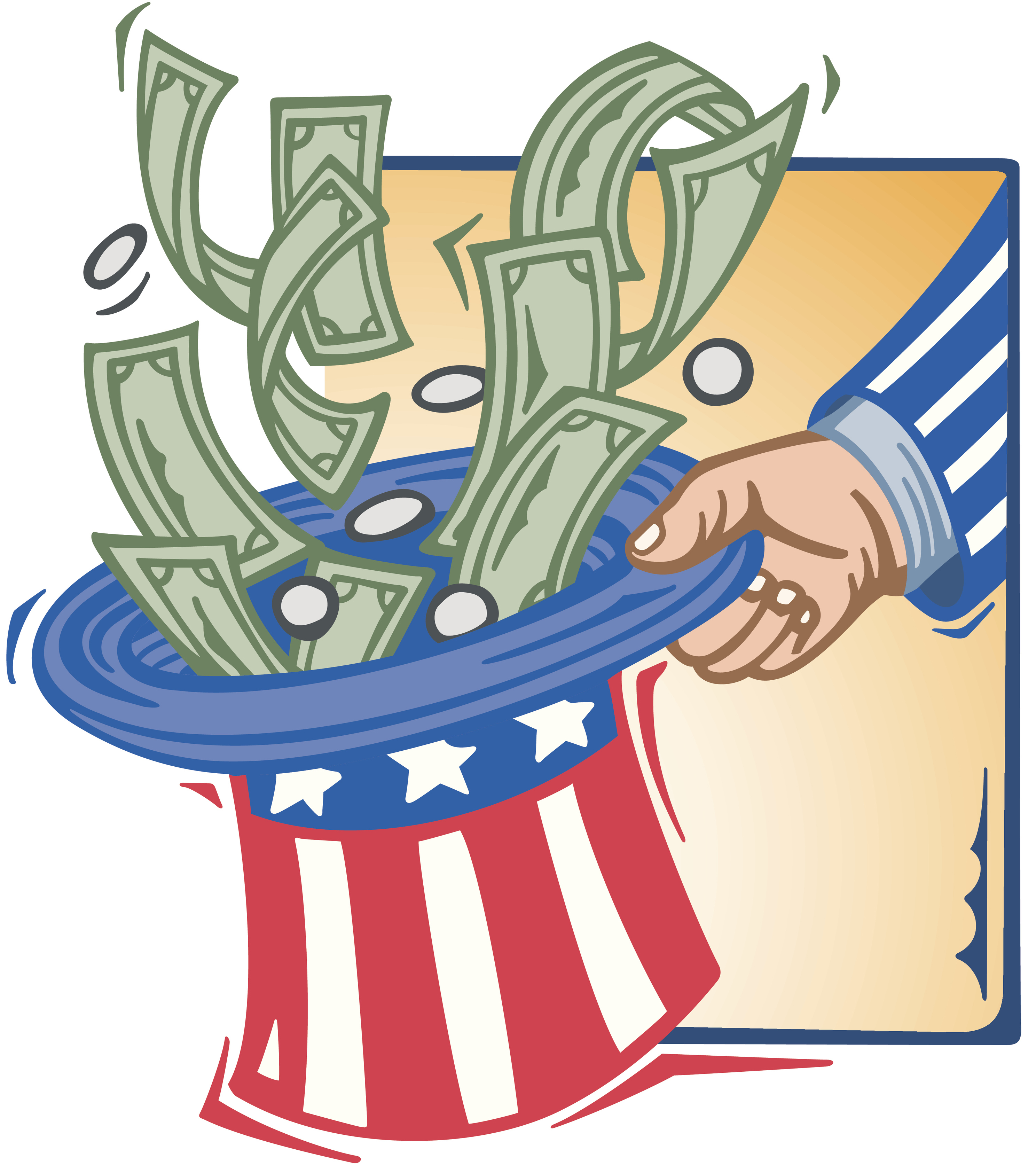 Uncle Sam clipart sales tax Almanac Humor Taxes  and
