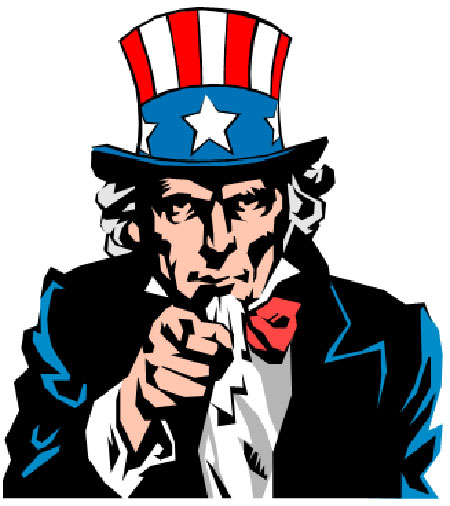 Uncle Sam clipart sales tax Tax Day from report findings