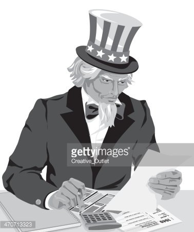 Uncle Sam clipart sales tax Me stock Uncle Uncle Sam